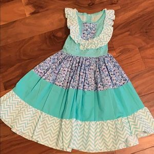 Other - Custom made size 6/7 girls dress never worn